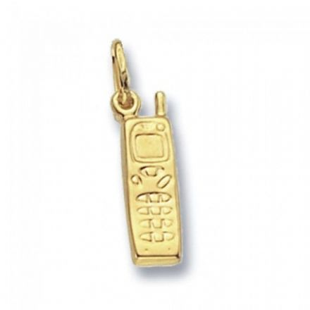 Yellow Gold Pendants -Mobile Phone, PN247